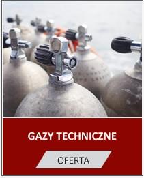 gazy techniczne
